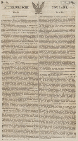 Middelburgsche Courant 1827-05-01