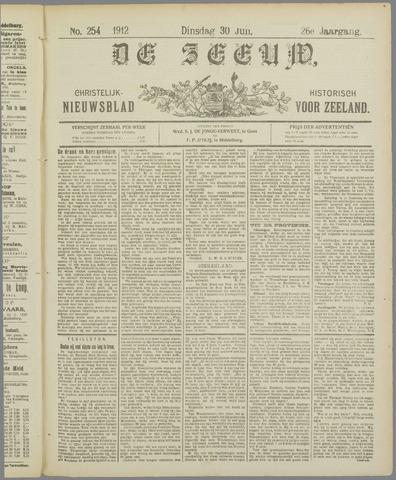 De Zeeuw. Christelijk-historisch nieuwsblad voor Zeeland 1912-07-30