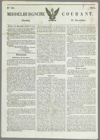 Middelburgsche Courant 1865-11-21