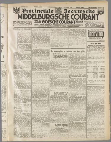 Middelburgsche Courant 1936-10-01