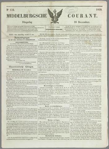 Middelburgsche Courant 1859-12-20