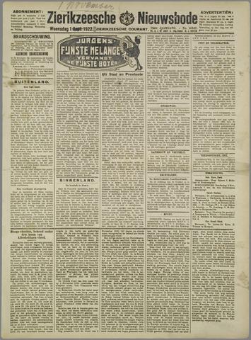 Zierikzeesche Nieuwsbode 1922-11-01