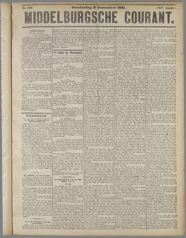 Middelburgsche Courant 1921-12-08