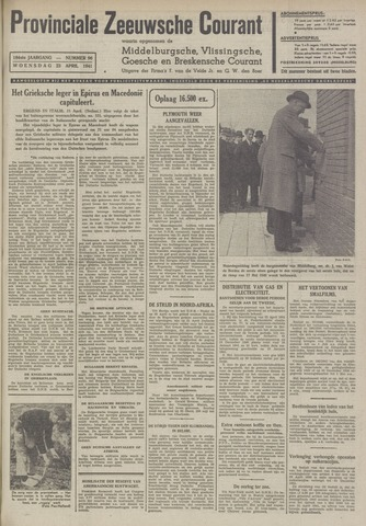 Provinciale Zeeuwse Courant 1941-04-23