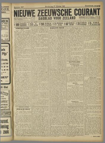 Nieuwe Zeeuwsche Courant 1921-10-27