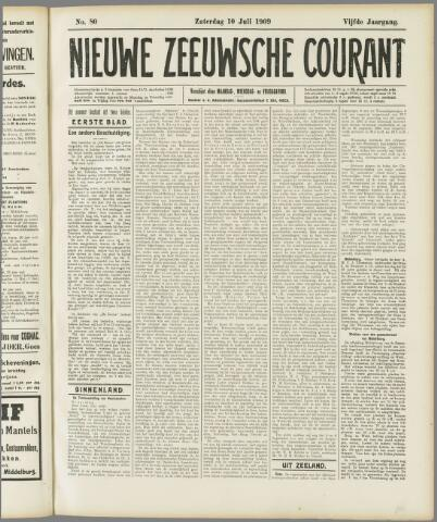 Nieuwe Zeeuwsche Courant 1909-07-10