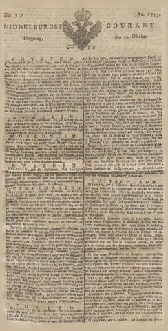 Middelburgsche Courant 1775-10-24