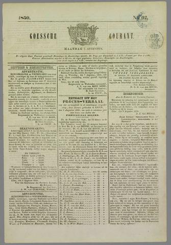 Goessche Courant 1850-08-05