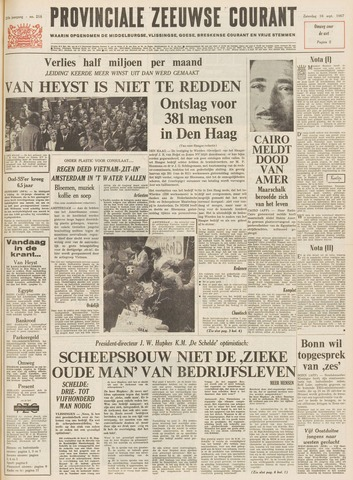 Provinciale Zeeuwse Courant 1967-09-16