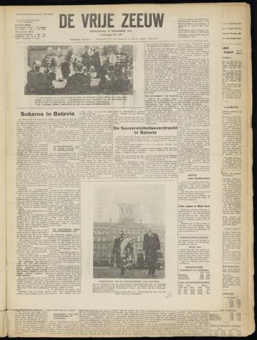 de Vrije Zeeuw 1949-12-29