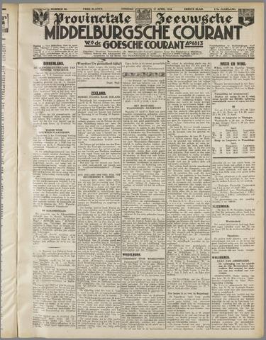 Middelburgsche Courant 1934-04-17