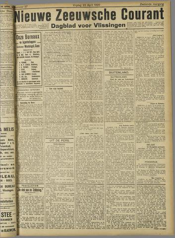 Nieuwe Zeeuwsche Courant 1920-04-23