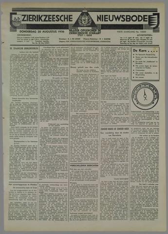 Zierikzeesche Nieuwsbode 1936-08-20
