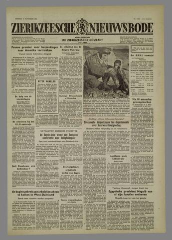 Zierikzeesche Nieuwsbode 1954-11-16