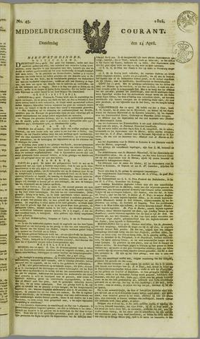 Middelburgsche Courant 1825-04-14