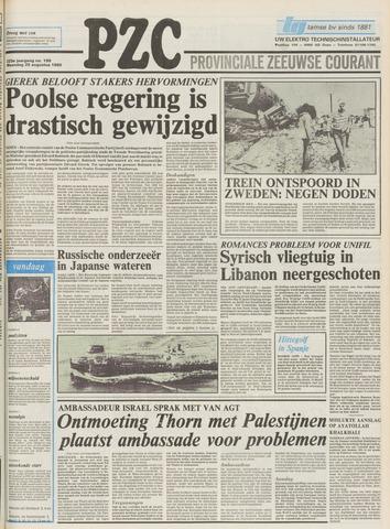 Provinciale Zeeuwse Courant 1980-08-25