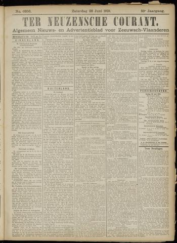 Ter Neuzensche Courant. Algemeen Nieuws- en Advertentieblad voor Zeeuwsch-Vlaanderen / Neuzensche Courant ... (idem) / (Algemeen) nieuws en advertentieblad voor Zeeuwsch-Vlaanderen 1919-06-28