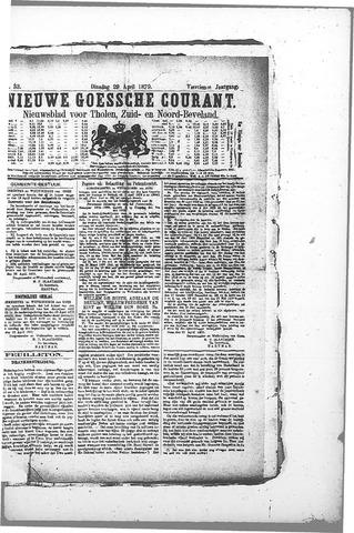 Nieuwe Goessche Courant 1879-04-29