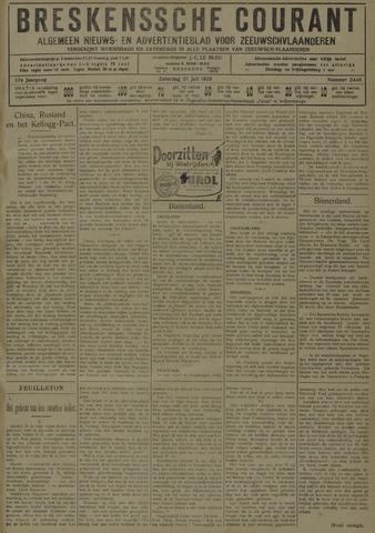 Breskensche Courant 1929-07-27