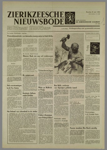 Zierikzeesche Nieuwsbode 1965-06-21