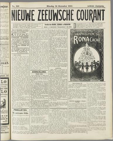 Nieuwe Zeeuwsche Courant 1912-12-24