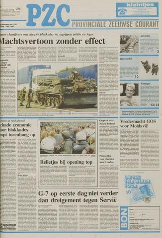 Provinciale Zeeuwse Courant 1992-07-07