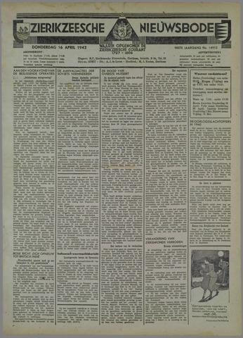 Zierikzeesche Nieuwsbode 1942-04-16