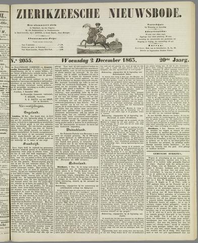 Zierikzeesche Nieuwsbode 1863-12-02