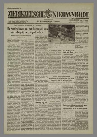 Zierikzeesche Nieuwsbode 1955-09-22