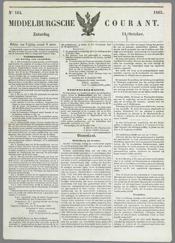 Middelburgsche Courant 1865-10-14