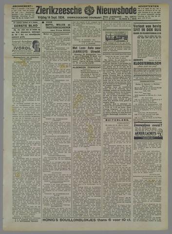 Zierikzeesche Nieuwsbode 1934-09-14