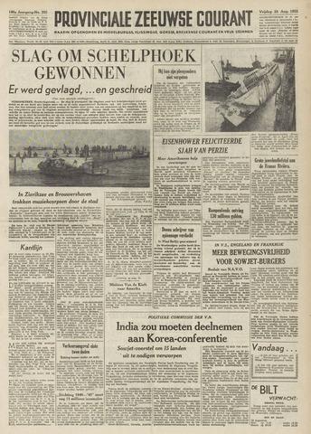 Provinciale Zeeuwse Courant 1953-08-28