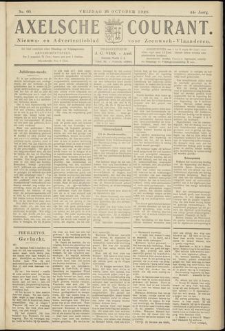 Axelsche Courant 1928-10-26