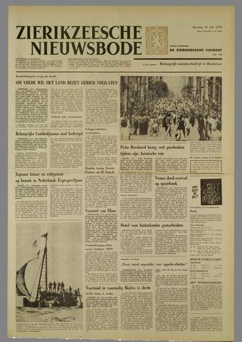 Zierikzeesche Nieuwsbode 1970-07-14
