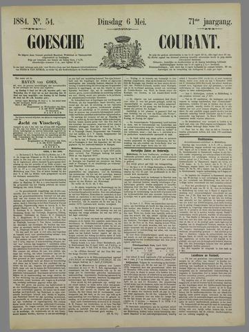 Goessche Courant 1884-05-06