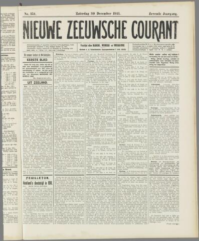 Nieuwe Zeeuwsche Courant 1911-12-30