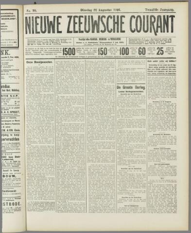Nieuwe Zeeuwsche Courant 1916-08-22