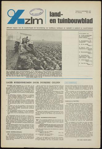 Zeeuwsch landbouwblad ... ZLM land- en tuinbouwblad 1973-09-28