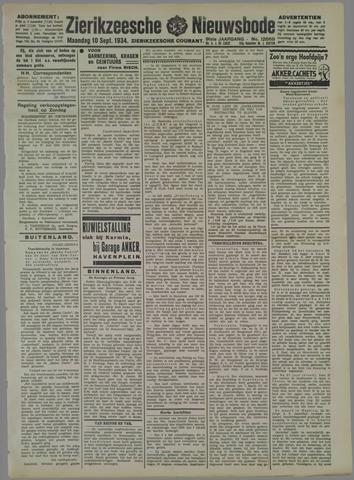 Zierikzeesche Nieuwsbode 1934-09-10