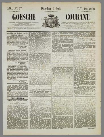 Goessche Courant 1883-07-03