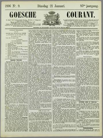 Goessche Courant 1896-01-21