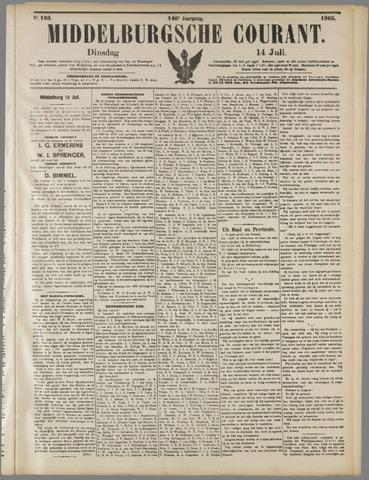 Middelburgsche Courant 1903-07-14