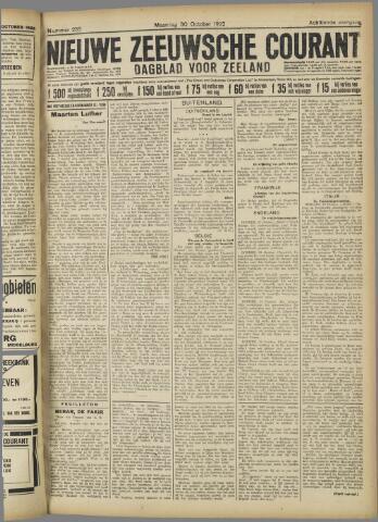 Nieuwe Zeeuwsche Courant 1922-10-30