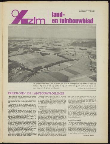 Zeeuwsch landbouwblad ... ZLM land- en tuinbouwblad 1972-12-22