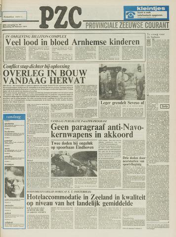 Provinciale Zeeuwse Courant 1977-02-23