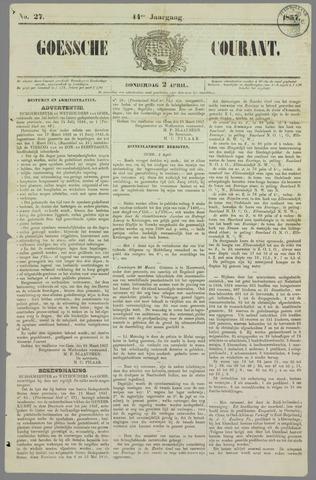 Goessche Courant 1857-04-02
