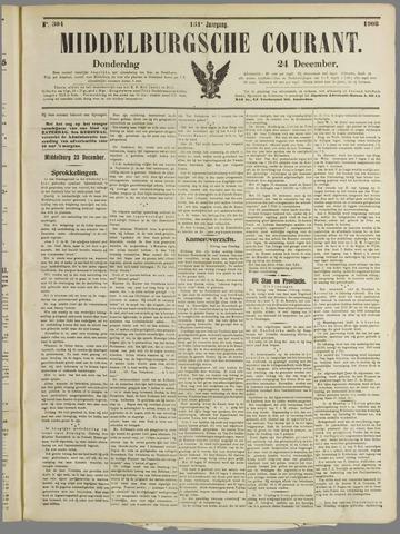 Middelburgsche Courant 1908-12-24