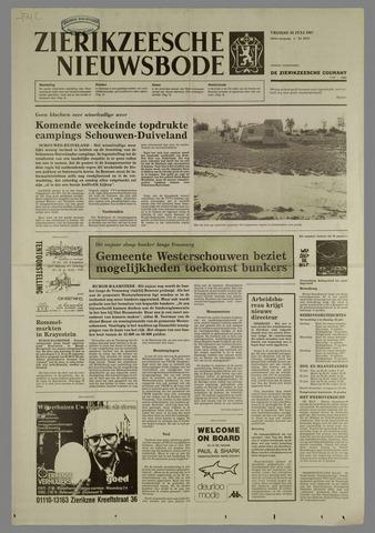 Zierikzeesche Nieuwsbode 1987-07-24