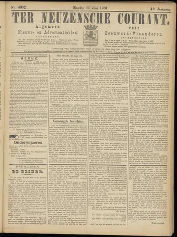 Ter Neuzensche Courant. Algemeen Nieuws- en Advertentieblad voor Zeeuwsch-Vlaanderen / Neuzensche Courant ... (idem) / (Algemeen) nieuws en advertentieblad voor Zeeuwsch-Vlaanderen 1901-06-11