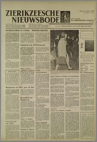 Zierikzeesche Nieuwsbode 1963-02-05